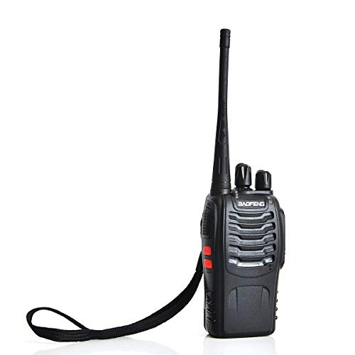Baofeng BF-888S Walkie Talkie, Two Way Radio 888S Long Range UHF FM Transceiver 400-470 MHz CTCSS DCS Portable Two Way Ham Radio Pocket with Earphone Handheld Amateur Radio