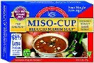 Edward And Sons Organic Reduced Sodium Miso Cup Soup, 1 Ounce - 12 per case.