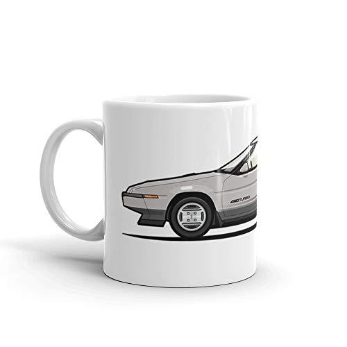 (Subaru Alcyone XT-Turbo Vortex Silver 11 Oz Ceramic)