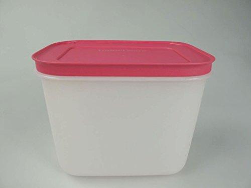 TUPPERWARE Gefrier-Behälter Eis-Kristall G35 Eiskristall hoch weiß pink 1,1L 10054