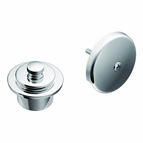Moen Shower Drain Cover - Moen T90331 Tub and Shower Drain Cover, Chrome (Renewed)