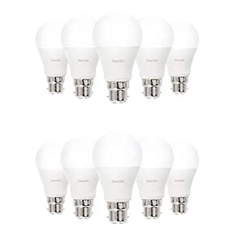 Lote de 10 bombillas LED B22 9 Watt (EQ. 60 Watt)