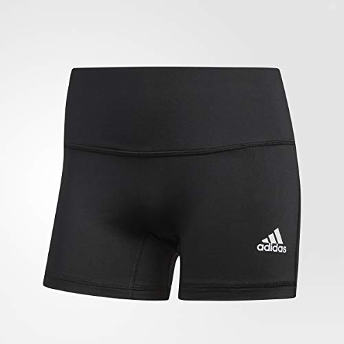 adidas Women's Four-Inch Short Tights, Black, Large