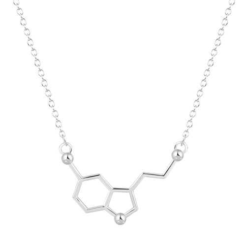 Inverted Overlap Triangle Necklace Collares product image