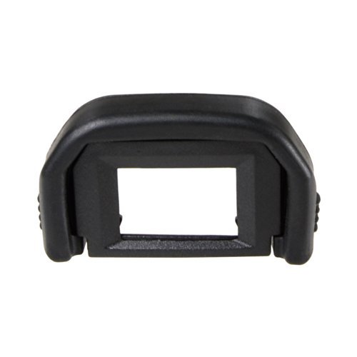 Foto&Tech 2 Pieces Replacement Rubber Eye Cup EF For CANON Rebel (T7i, T6i, T6, T6S, T5i T4i T3i T3 T2i T1i XTi XSi XS), CANON EOS (1100D 600D 550D 500D 450D 400D 350D 300D) Cameras -