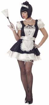 [Adult Sexy Fiona French Maid Costume (Size: Large 10-12)] (Fiona Adult Costumes)
