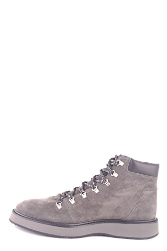 Hogan Hi Men's Suede MCBI148377O Sneakers Top Grey PnPrq1p