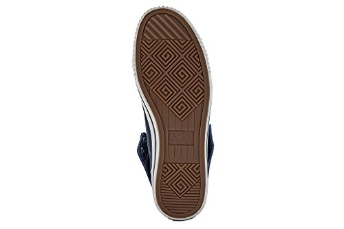 British Knights Roco - Zapatillas deportivas de caña alta para hombre Azul