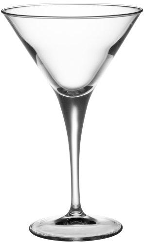 Bormioli Rocco Stemware (Bormioli Rocco Ypsilon Stemware Martini Glasses, 8-1/4 ounce, Set of 6)
