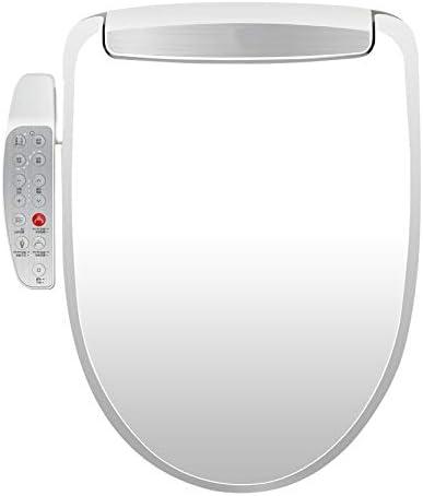 スマートトイレシート、自動脱臭、静かな閉蓋とシート、温風乾燥機付きシート、温度制御された洗浄機能。