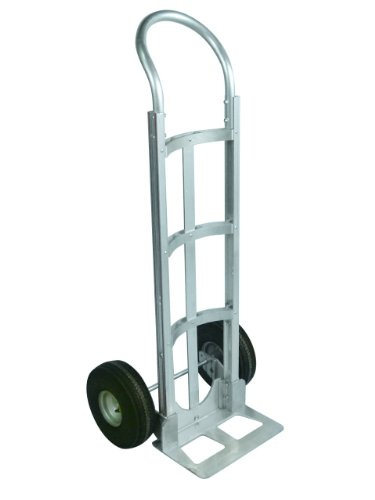 Lockwood 7000 Series Aluminum Hand Truck with Curved Back...