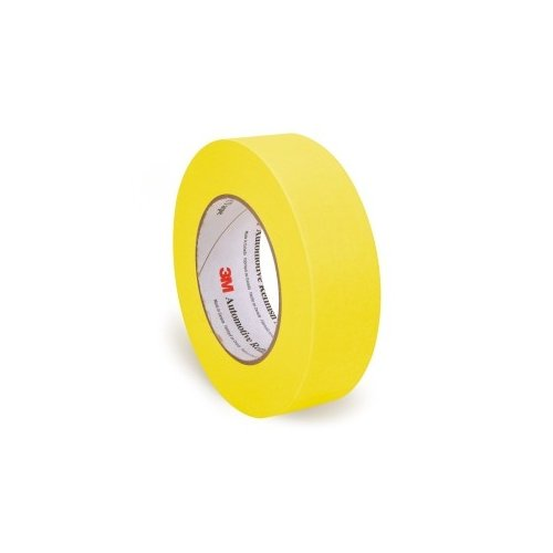 3M 06654 36 mm x 55 m Automotive Refinish Masking Tape Automotive Refinish Masking Tape