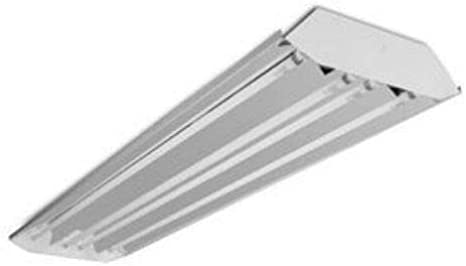 4 Lamp High bay Linear Curved Profile High Output T5 Light Fixture F54T5HO