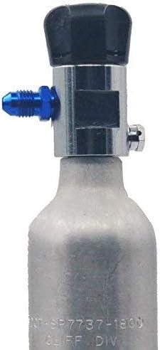 Dracary Hi-Flo Nitrous Bottle Valves NOS 16145 Work For NOS//NITROUS//ZEX//NX//EDELBROCK//HOLLEY//NOS 5//8 in