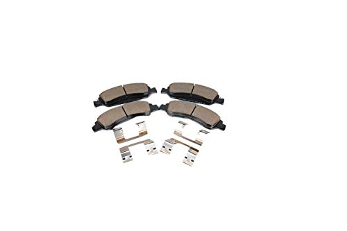 GM Genuine Parts 171-0974 Front Disc Brake Pad Set with Clips