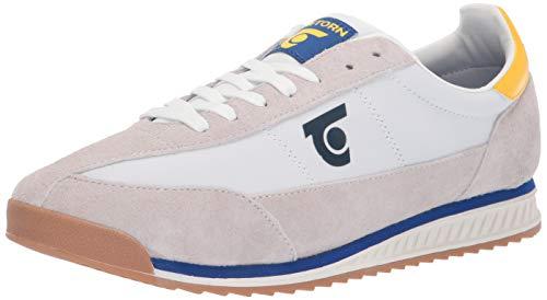 Tretorn Men's RETRO3 Sneaker, Ivory, 12 Medium US