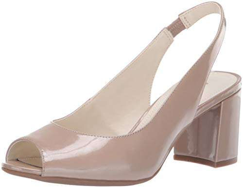 Anne Klein Women's Maurise Pump, Natural Patent, 8 M ()