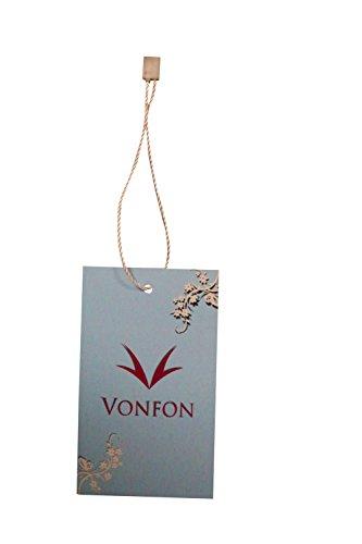 VonFon Women Lace Floral Sleeveless Crochet Knit Vest Tank Top Shirt Blouse Yellow Medium