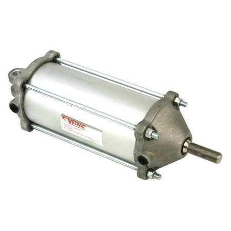 Velvac 100132 Air Cylinder, Air, 3-1/2 In. Bore, Clevis