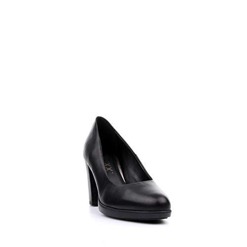 02 Nero D6504 The Con New Donna Decolletè Rosanna Tacco Flexx Scarpe WvvpAR01