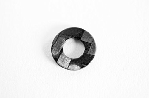 #6 Carbon Fiber Flat Washer (25 Pack)