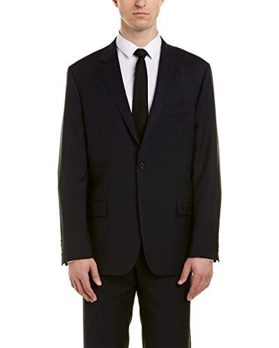 Hickey Freeman Mens Milburn Ii Wool Suit, 44R ()