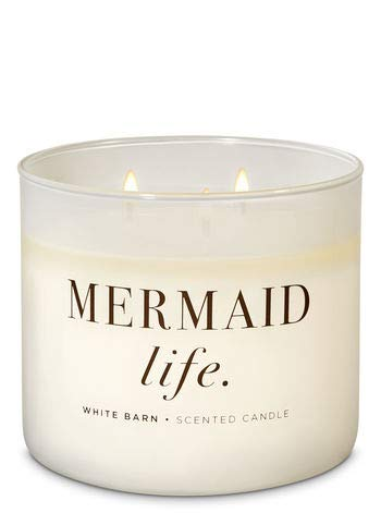 White Barn Bath & Body Works 3 Wick Candle Mermaid Life