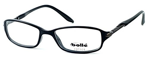 3.00 Boll/é Elysee Lightweight /& Comfortable Designer Reading Glasses 50mm in Shiny Black