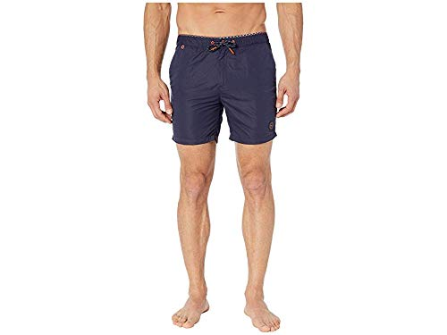 Scotch & Soda Men's Classic Colourful Swimshorts Navy Small