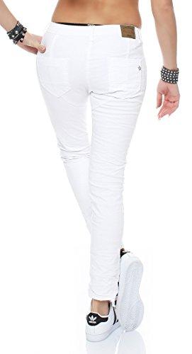 SKUTARI - Vaqueros - boyfriend - Étnica - para mujer blanco