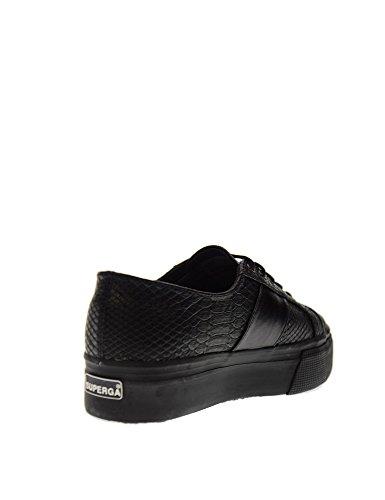 Eu High 2790 Superga Pusnakew Sneaker Cuir 38 Femmes Lisse H6Aw6