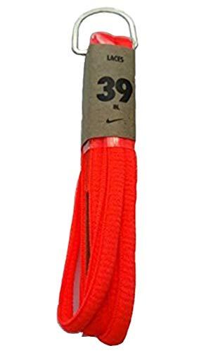 ent Shoelaces Oval Cords Laces 39 Fluor Coral ()