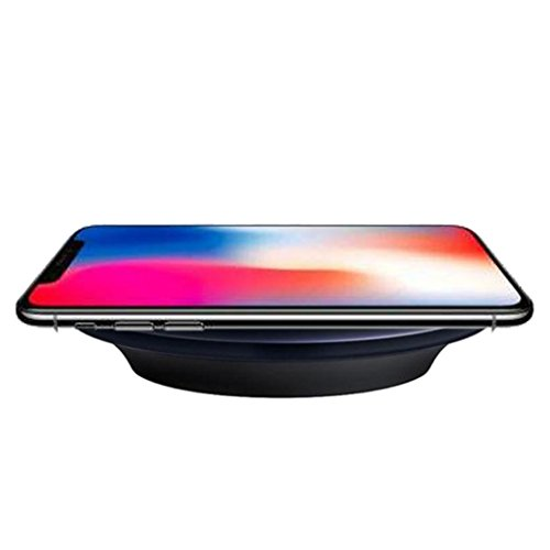 Price comparison product image Hot Sale! Qi Wireless Charger,Sunfei Charger Pad for Apple iPhone X iPhone 8 iPhone 8 Plus (Black)