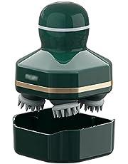 Scalp Massagers Głowica szczotki do szamponu szczotka relaksująca szczotka do skóry głowy silikonowa szczotka elektryczna szampon masujący szampon masażer