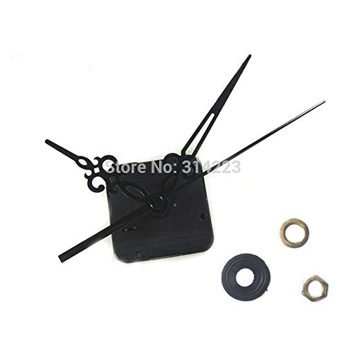 Maslin 10pcs Clock Fittings Mute Quartz Clock Movement for Clock Mechanism Repair DIY Clock Parts Accessories Long Shaft