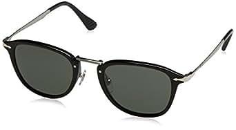 Persol PO3165S Sunglasses 95/31-50 - Black Frame, Green