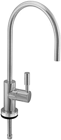 Westbrass Contemporary 11 Cold Water Dispenser, Stainless Steel, D2036-NL-20