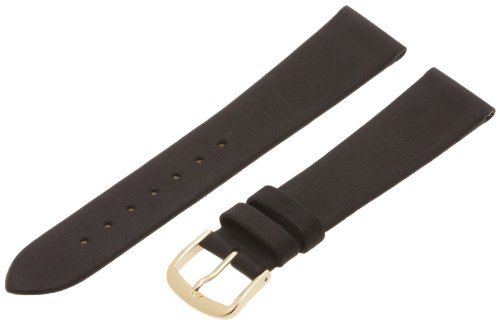 UPC 762402597549, Hadley-Roma Men's MSM831RA-190 19-mm Black Genuine Calfskin Leather Watch Strap
