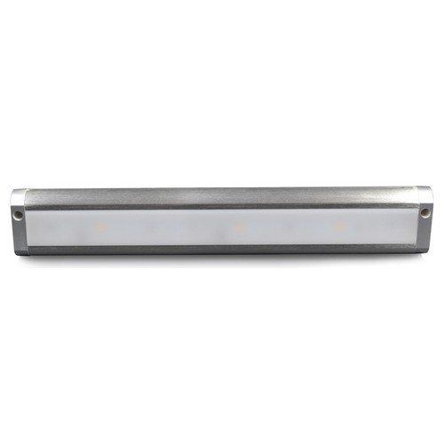 Morris 71271 LED Under Cabinet Light, Brushed Aluminum Hardwire/Plug-In Dimmable, 3000K, 18'' Size