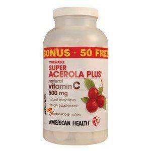 AMERICAN HEALTH ACER.PLUS 500MG SPR, 250 TB