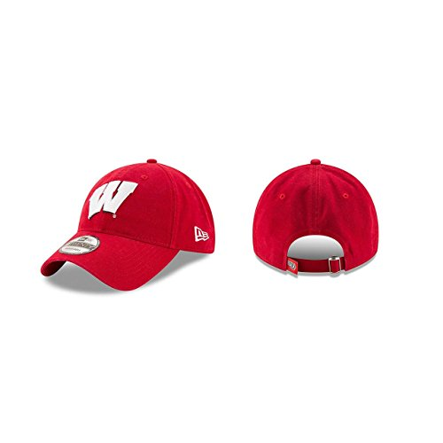 New Era Men's Wisconsin Badgers Core Classic Red One Size Fits All