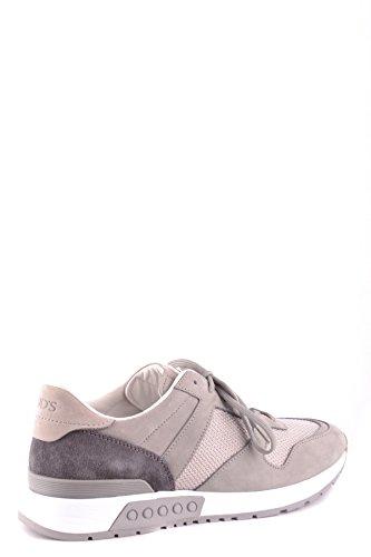 Tod S Herre Mcbi293163o Grå Stoff Sneakers B5MNJx