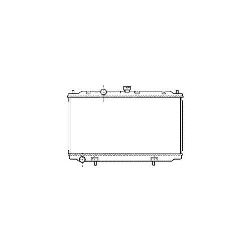 Motork/ühlung VAN WEZEL 13002221 K/ühler