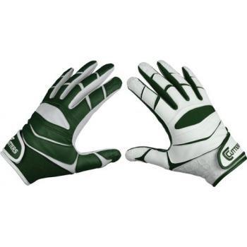 Cutters Gloves C-TACK Revolution Yin Yang Football Gloves (Dark Green, XX-Large)
