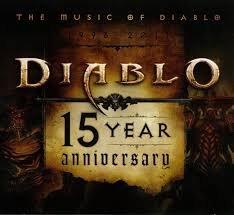 Diablo 15 Year Anniversary Soundtrack CD