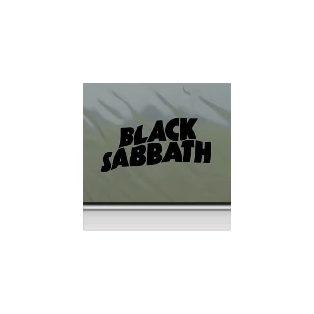 Black Sabbath Black Sticker Decal Ozzy Metal Band Black Car Window Wall Macbook Notebook Laptop Sticker Decal
