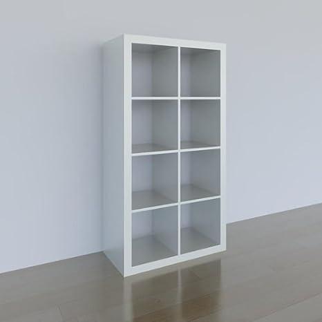 Ikea Expedit Regal 8 Facher Weiss 149x79x39cm