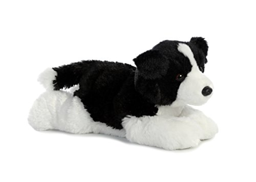 Aurora World Flopsie Toy Border Collie Plush, 12