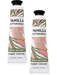 Bath and Body Works 2 Pack Vanilla Buttercream Hand Cream. 1 oz