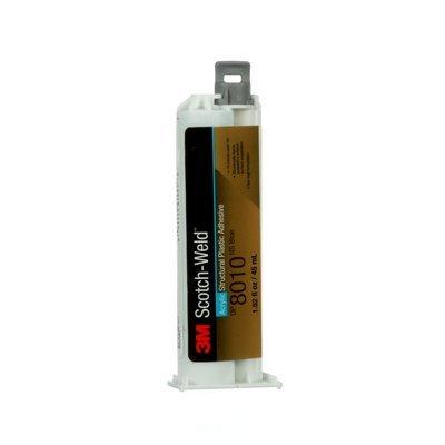 3M(TM) Scotch-Weld(TM) Structural Plastic Adhesive DP8010NS Blue, 45 ml Duo-pak, 12 per case by Scotch